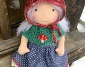 Eirwyn - 12 inch Waldorf inspired doll