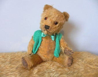Chiltern 1940's Bear - Chiltern Mohair Bear - Vintage Chiltern Teddy Bear