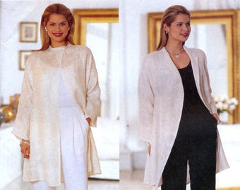 Butterick 6112 Sewing Pattern by Linda Allard For Ellen Tracy for Misses' Jacket and Pants - Uncut - Size 14, 16, 18
