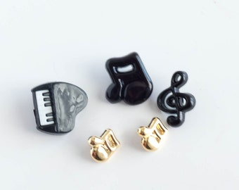 Button Lot Random Mix Music Craft Sewing Supply Random Destash Children's