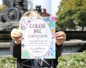 Color Me - 20 page coloring book