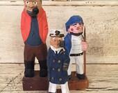 Vintage Wooden Sea Captain Lot - Instant Collection - Nautical Decor