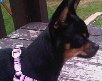 Dog Harness, Step In Dog Harness, Custom Harness, Adjustable Dog Harness, Handmade Dog Harness