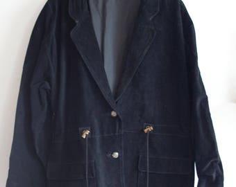 Longline Suede Jacket 100% Leather size L