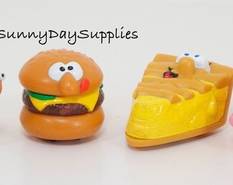 Toys on Wheels, Burger King Lickety Splits, Rolling Racers, 1990 Burger King Toys, Kids fast food toys, Minature  Food Toys, Gifts for kids