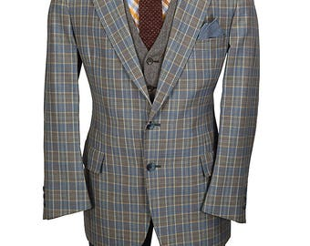 Snazzy 40R Lightweight Gentry Cotton Blazer - Already Dry Cleaned