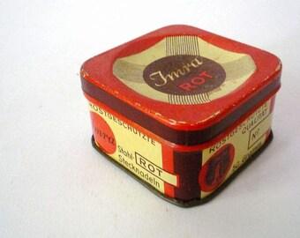 Metal Box / Advertising Tin for a German Needle Brand
