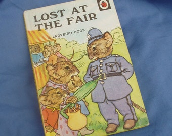 Lost At The Fair - Vintage Ladybird book Series 401 - 50p early 1980s edition Early Readers - Matt Covers