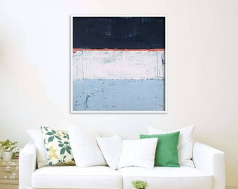 30x30 Large abstract painting Original abstract painting Canvas painting Large canvas art Original painting Large Wall Art blue painting
