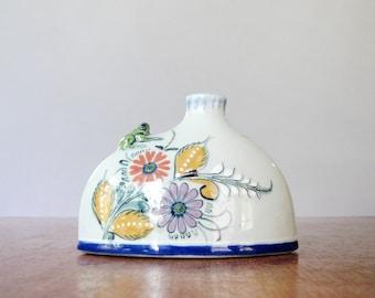 Vintage El Palomar / Ken Edwards Mexico Vase Charming Frog