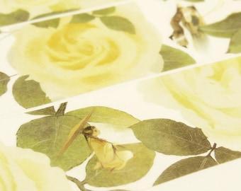 Flower Fairies - Japanese Washi Masking Tape - 30mm wide - 5.5 Yard
