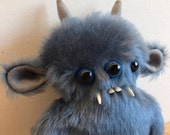 Mr Monster - Decorative Doll - Uncanny Creature - Handmade and OOAK /Made to order/ Quirky Uncanny Scary Creepy Cute