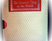 Vintage Christian Gift Book Greatest Thing Henry Drummond Antique Rare Collectible Book Religious books of faith little red book
