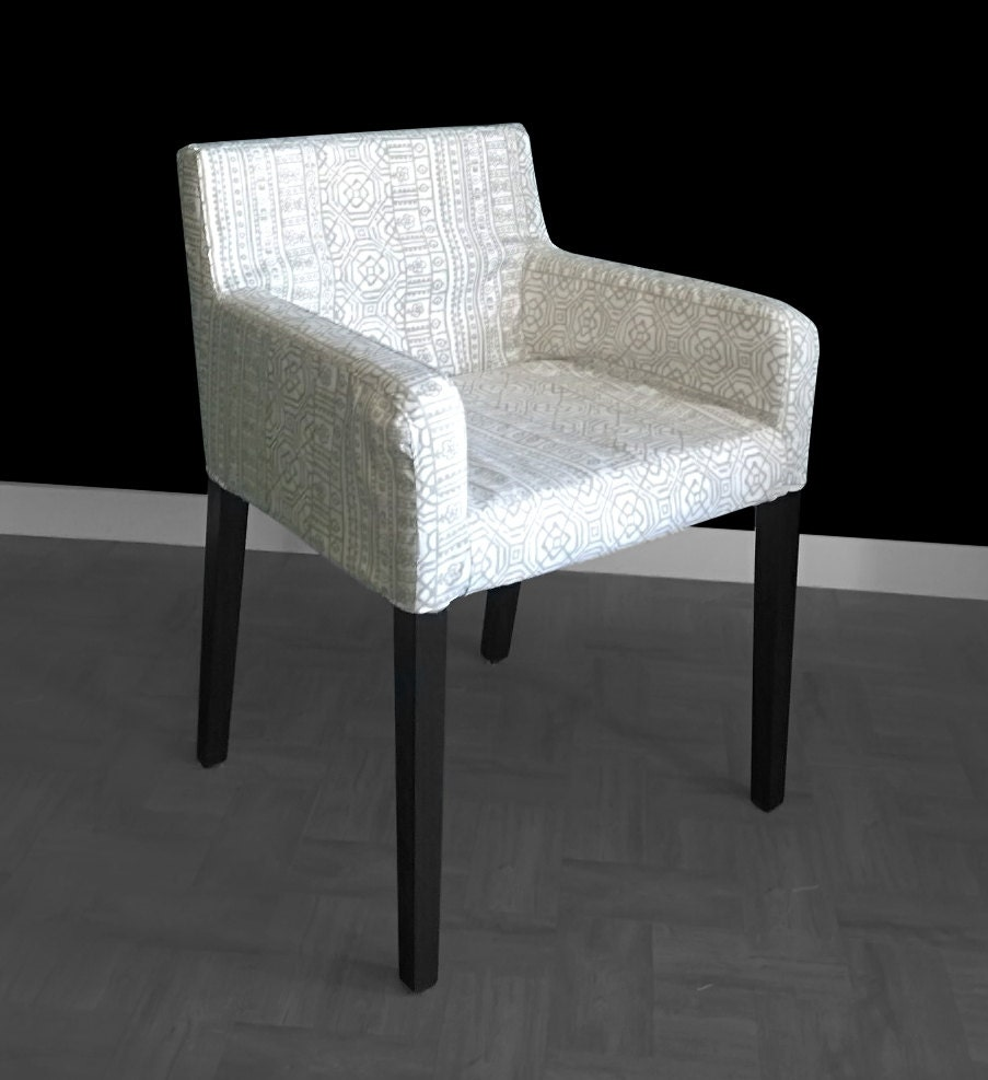 ikea nils customized chair slip cover devada beechwood. Black Bedroom Furniture Sets. Home Design Ideas