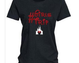 Girls Trip Shirt, Disney Group T Shirt, Minnie Mouse Shirt, Ladies Disney Shirt, Disney Shirt, Womens Disney Shirt, RTS Disney