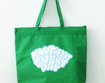 Earth Day is EVERY DAY Embroidered Tote Bag