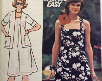 Butterick 4225 Fast and Easy summer dress and jacket