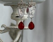 Assemblage Earrings Relig...