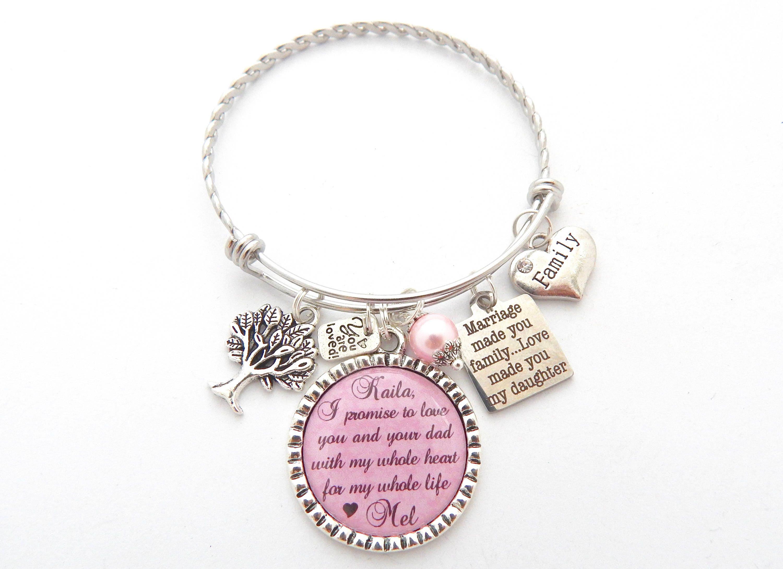 Wedding Gifts For Stepmom: STEP DAUGHTER Wedding Gift Step Daughter Bracelet Gifts For