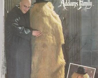 Uncle Fester & Cousin It Adult Costume Pattern Simplicity 7992 Sizes XS - L Uncut