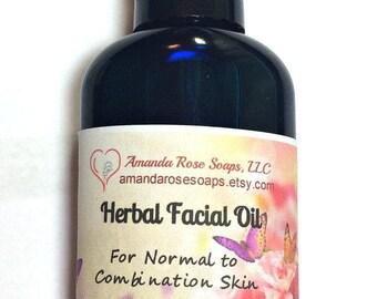 Herbal Facial Oil, Tamanu Oil, Moisturizer, Serum, Face Serum, Face Oil, Natural Skin Care
