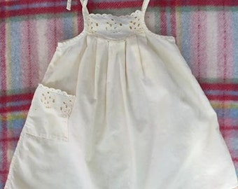 Yellow eyelet dresses girls