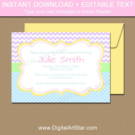 spring invitation printable save the date template mothers day