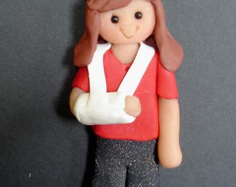 Broken Arm Christmas Ornament