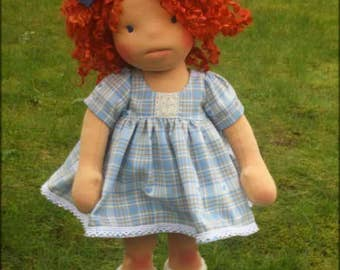"""Waldorf inspired doll called Eleanor , 18"""" tall doll"""