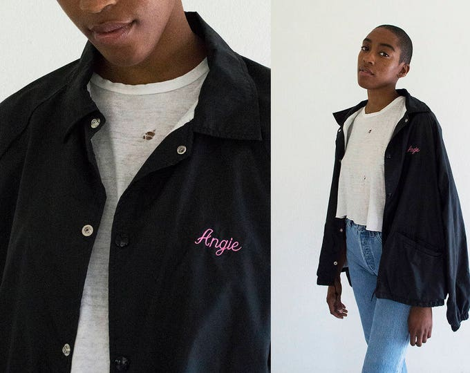 Embroidered Nylon ANGIE Jacket