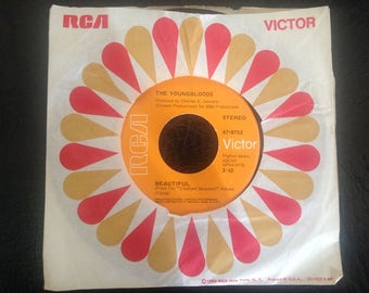 The YoungBloods- Get Together Vinyl Single 45 Record