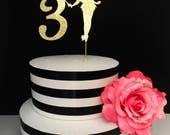 Sprinkled With Paper Gold Fairy Cake Topper