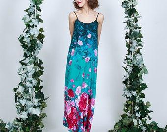 Paradise Garden  - maxi dress