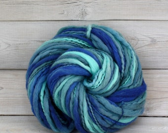 Titan - Hand Dyed Thick & Thin Merino Wool Bulky Chunky Yarn - Colorway: Baja