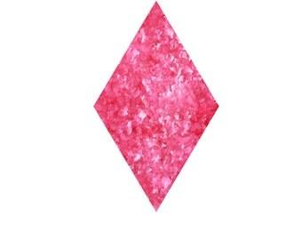 Pink Edible Glitter Flakes - 7 grams Sprinkles, Hot Pink, Toppings