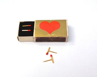 Gold plated sterling silver Matchstick Earrings