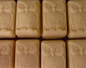 Owl Soap - Lavender Oatmeal Soap - Vegan Soap - Wholesale Soap