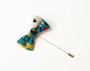 Santa Fe Bow Tie Lapel Pin