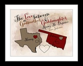 Godmother gift for godmother, goddaughter gifts, personalized gift, christmas gift for godmother, gift for godfather, gift for godson