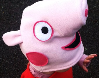 Peppa Pig Winter Hat For Kids and Adults