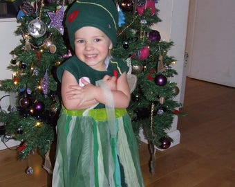 Christmas Tree Costume For Kids