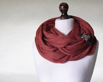 Infinity scarf, knit cowl, loop scarf, circle scarf, oversized knit, knit wrap, chunky scarf, large cowl, scarf wrap, knit neckwarmer