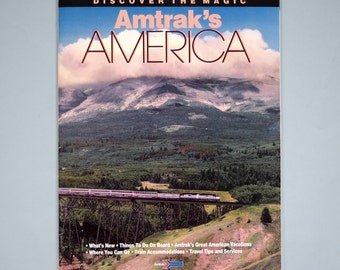 1992 Amtrak's America Discover the Magic