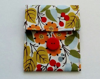 Small Pouch, Accessory Bag, Button Pouch, Bag Organizer, Cell Phone Case, Camera Case