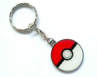 Pokemon Pokeball Keychain or Clasp, Gotta Catch 'Em All! :)