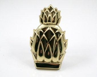 Brass Pineapple Door Knocker Made in Spain