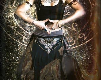 Sun of Sata Silver Tribal Bely Dance Chain Headdress