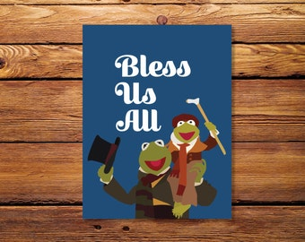 Muppets Christmas Card