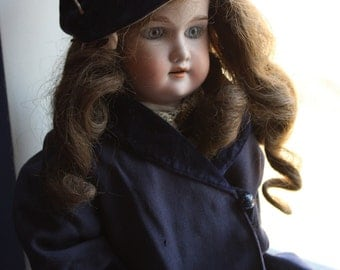 Antique Doll Coat and Hat