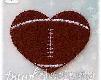 Football Heart Slider Digital Design File